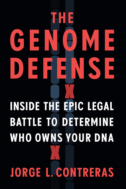 Cover of The Genome Defense Book